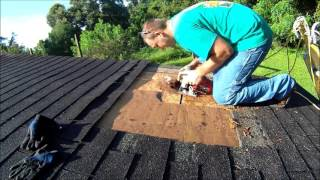 Repairing Leaking Shingle Roof