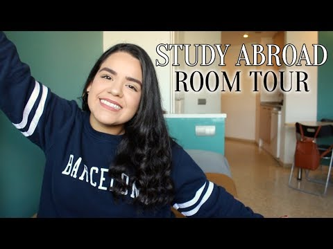 Why I switched apartments.. Study Abroad Room Tour