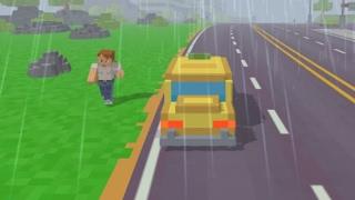 Такси в пиксельном городе (Pixel Road: Taxi Depot) // Геймплей
