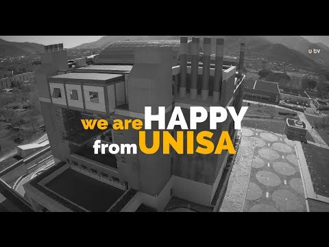 we are HAPPY from UNISA