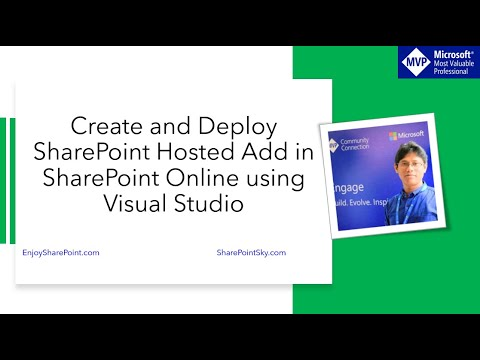 Create and Deploy SharePoint Hosted Add in SharePoint online site using visual studio 2015