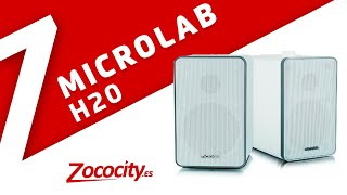 Review Altavoces Microlab H20 en español