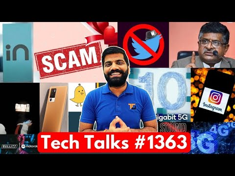 Tech Talks #1363 – Twitter Ban?, 10Gbps 5G, Narzo 30 Pro, Flying Smartphone, Mi Mix 4,Valentine Scam