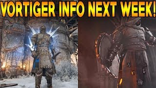 For Honor: NEW EXECUTIONS NEXT WEEK! NEW EFFECT! VORTIGER GAMEPLAY, ARMOR, & WEAPONS NEXT WEEK!