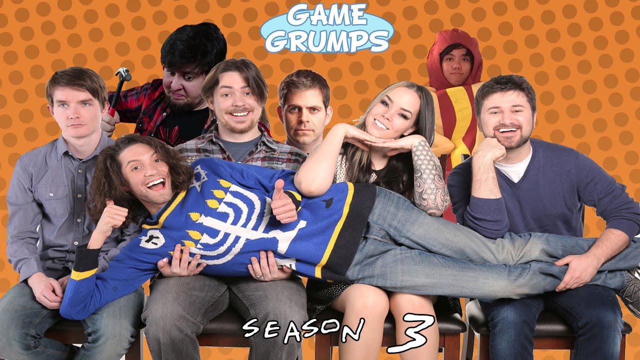 game grumps opening year three youtube
