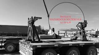 Texas CDL handbook Section 9 HAZARDOUS MATERIALS 9.1 to 9.8