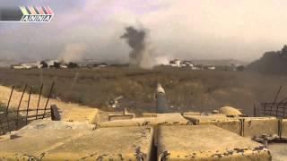Сирия. Танк Т 72  С террористами разговор короткий. 20130518