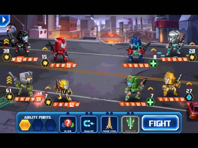 [TRANSFORMERS: Battle Tactics] Transformers Battle Tactics Replay