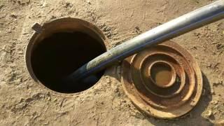 Управляемый прокол 17 м под канализацию