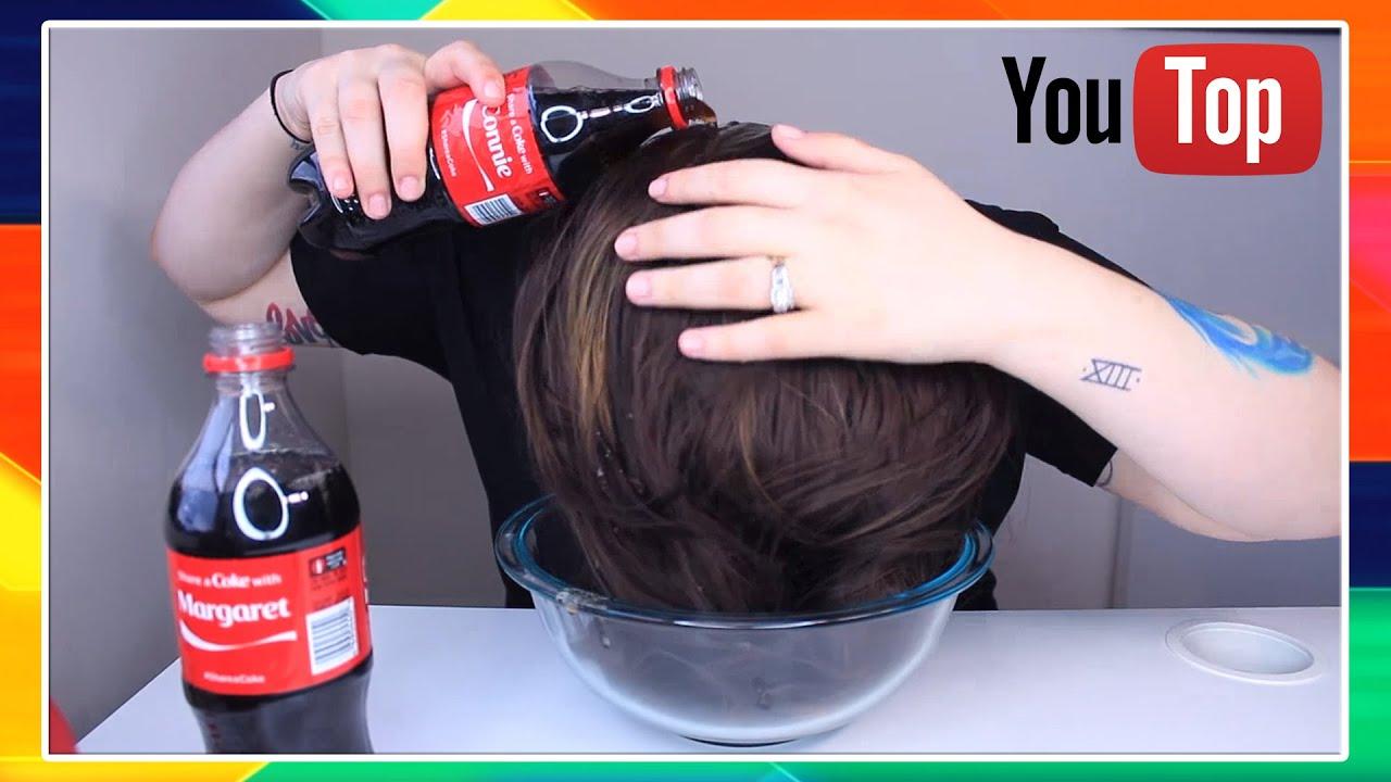 зачем поливать волосы кока колой