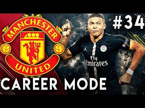 FIFA 19 Manchester United Career Mode EP34 - New Season Begins!! Signing Kylian Mbappe!!