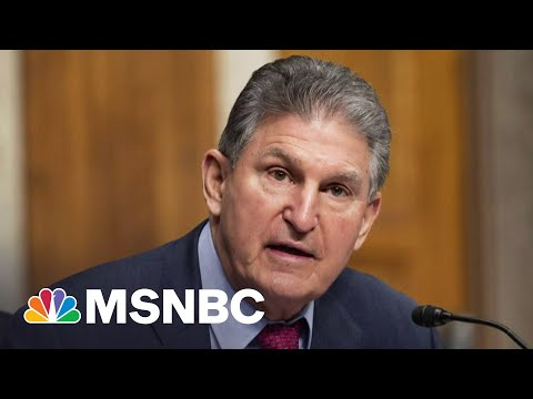 Sen. Manchin Says He Won't Vote In Favor Of The For The People Act