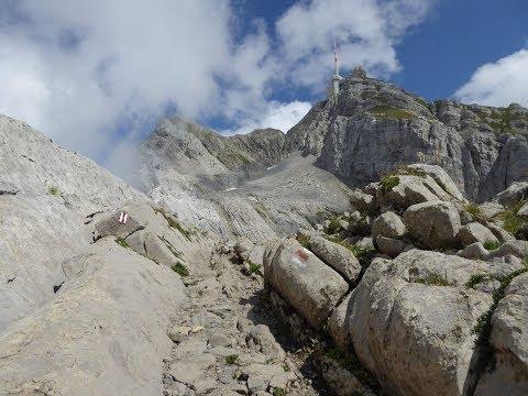 Säntis - Wanderung von der Schwägalp auf den King of Alpstein (Appenzell / Schweiz)