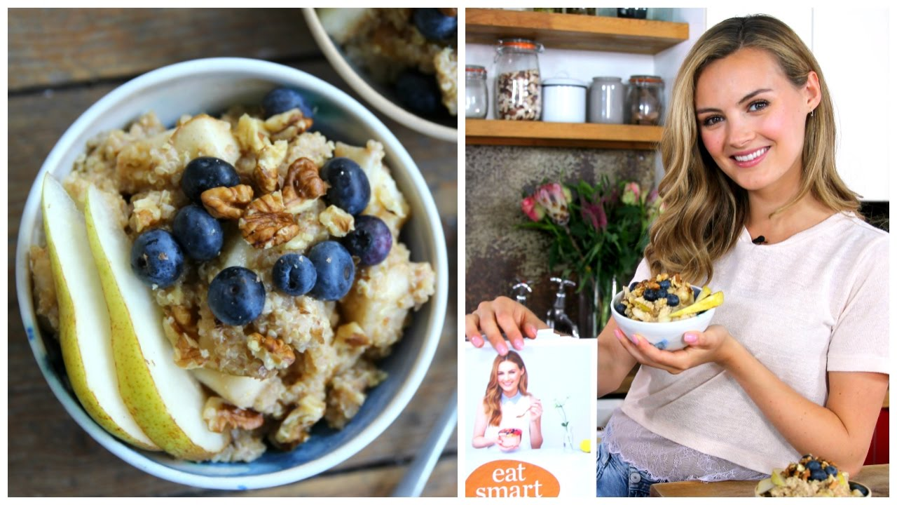 how to make quinoa porridge microwave