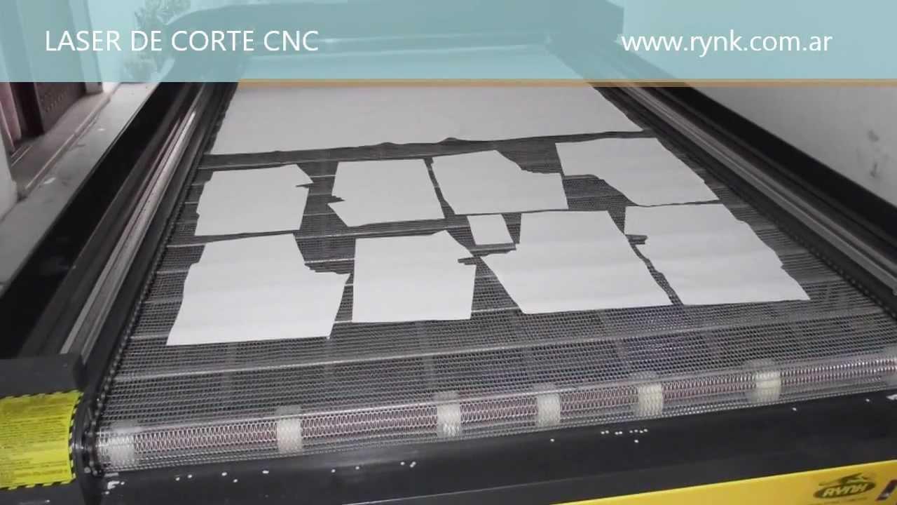 Corte de telas laser rynk 2616 youtube - Telas para cortinas el corte ingles ...