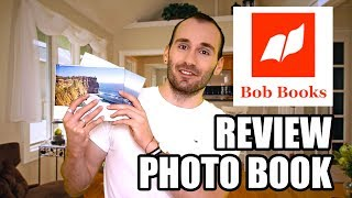BOB BOOKS PHOTO BOOK  - REVIEW [LAY FLAT & PERFECT BOUND]