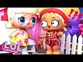❤️#Куклы ЛОЛ ДРУЖБА И ПОМОЩЬ Мультики с куклами LOL Surprise Сюрпризы #Игрушки