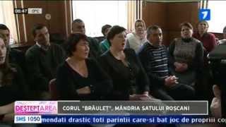 """Corul """"Brâuleț"""", mândria satului Roșcani"""