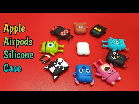 Apple Airpods Silicone Case Unboxing & Review. (Cartoon Characters Design)