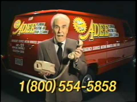 Adee Plumbing and Heating old commercial.. Adee Do!