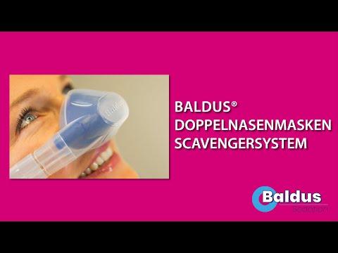 Baldus Doppelnasenmasken-Scavengersystem