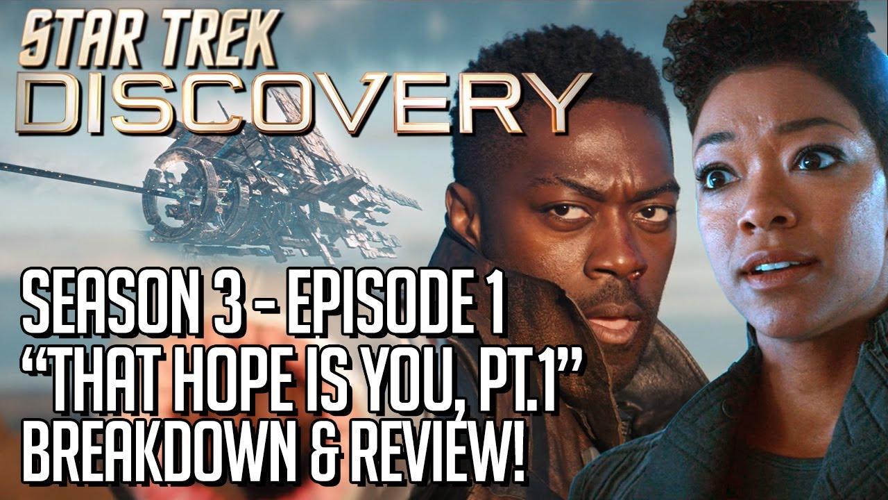 Download Star Trek Discovery Season 3 Episode 1 - Breakdown & Review!