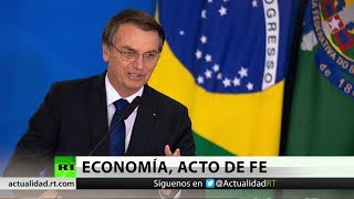 La popularidad de Bolsonaro cae con Brasil al borde de la recesión