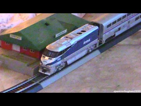 HO Scale Amtrak F59PHI #455 (Our 2014 Christmas Tree Train)
