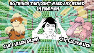 50 Things In Pokemon That Don