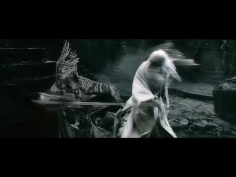 Saruman gets his hands on a lightsaber