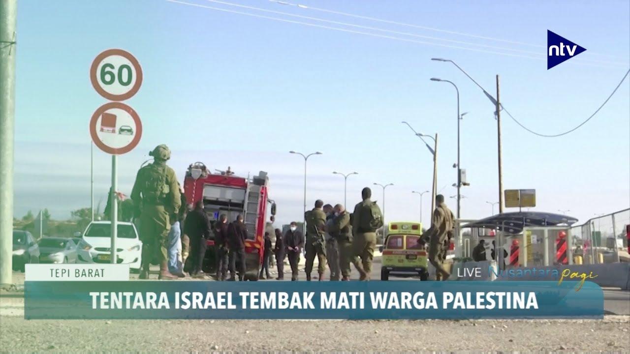 Tentara Israel Tembak Mati Warga Palestina