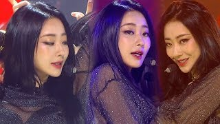 """Debut Stage"" GYEONG REE (Finance) - BLUE MOON (Last night) @ Popular song Inkigayo 20180708"