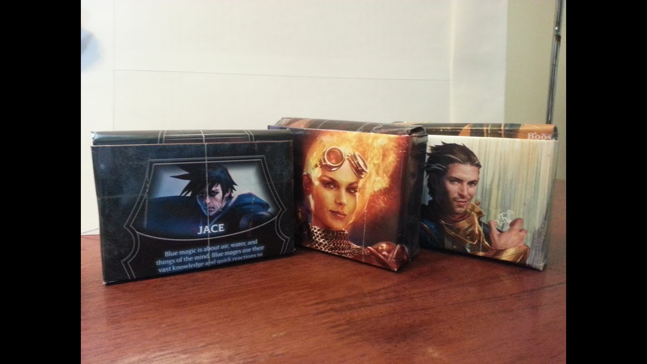 Make A Deck Sleeve Or Deck Box For Your Magic: The Gathering Cards  Youtube