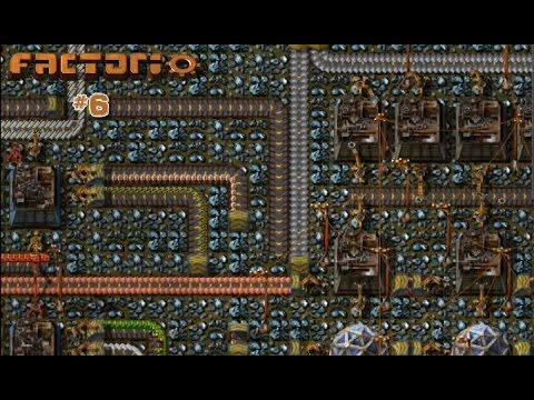 Factorio Walkthrough 6:Blue Science Pack Factory
