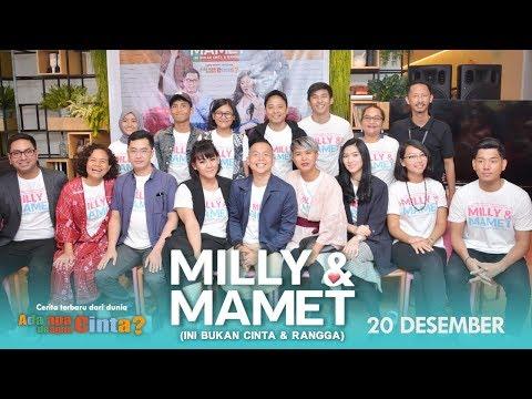 MILLY & MAMET (Ini Bukan Cinta & Rangga) Launching Trailer Mp3