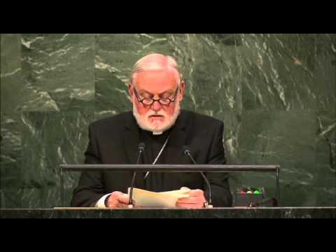 Saint-Siège – Débat 2015 de l'Assemblée générale de l'ONU