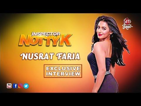 Inspector Notty K | Nusrat Faria  | Exclusive Interview
