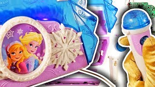 Disney Frozen Anna & Elsa Cool Tunes Sing Along TOY TEARDOWN!! See The Parts Inside