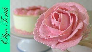 ТОРТЫ Розы из КРЕМА ЧИЗ Розы из творожного крема УПАКОВКА ТОРТА