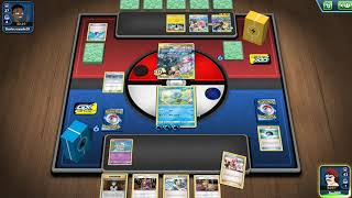 """Pokemon: Trading Card Game Online[GP11]""""Testing the water standard deck, opponents decks were strong"""