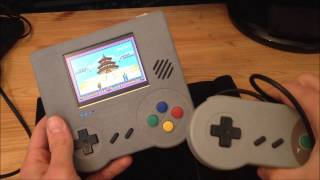 Raspiboy emulation handheld console
