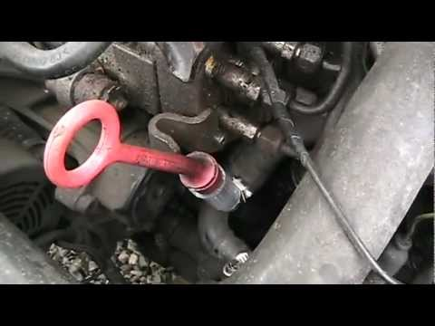 8 Engine Diagram Broken Vw Oil Dip Stick Tube Fix Youtube