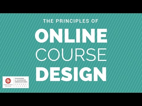 How to Design Your Online Course