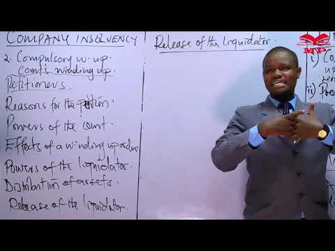 CPA - COMPANY LAW - CORPORATE  INSOLVENCY