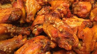 🍗 BEST EVER GARLIC BUFFALO WINGS | KETO | Cooking w/ Ashley