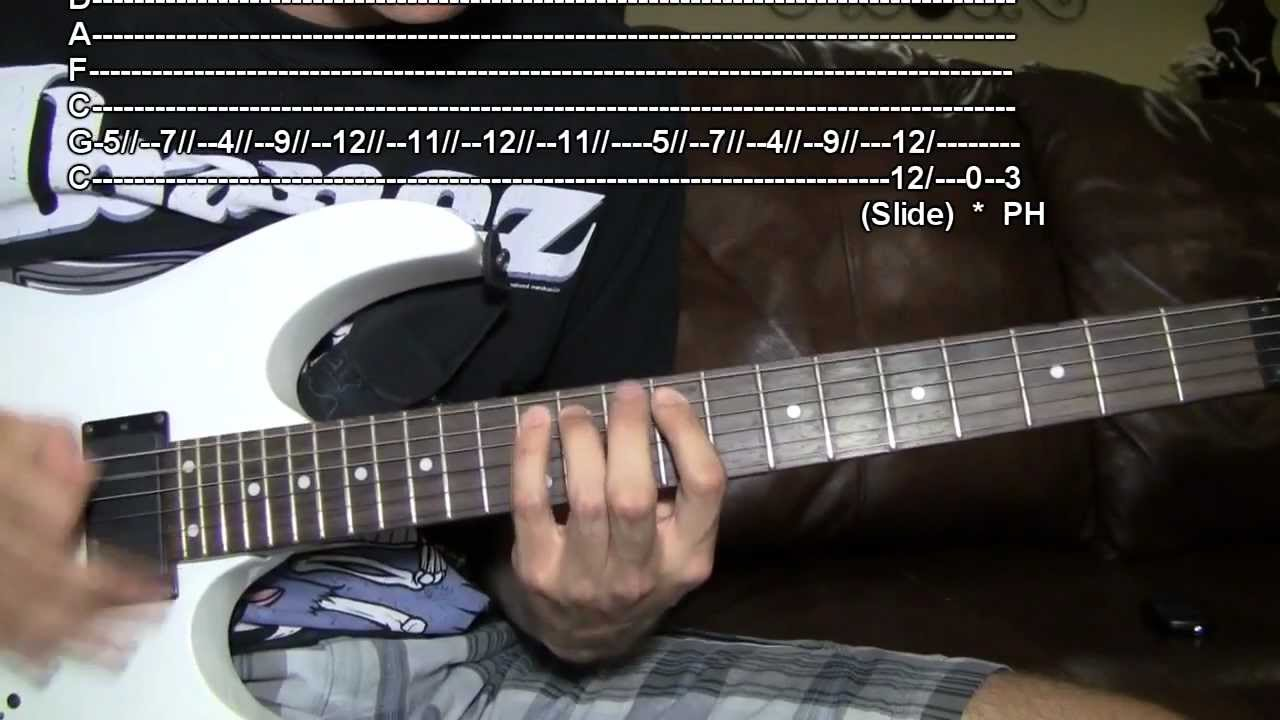 Download TUTORIAL (WITH TABS): Waking the Demon - Bullet For My Valentine HD