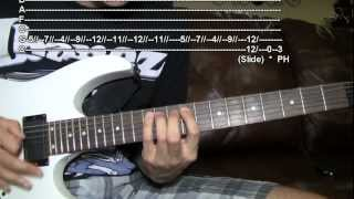 TUTORIAL (WITH TABS): Waking the Demon - Bullet For My Valentine HD