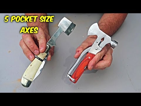 5 Pocket Size Axes
