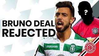 Bruno Fernandes Deal REJECTED!   Jude Belligham Incoming!   Manchester United Paper Talk