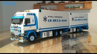 Scania 3 Serie Hängerzug E. W. Kok 01-2715 WSI Models